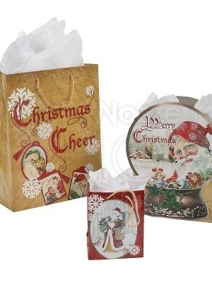 Buste di Natale in carta - 12 pezzi