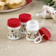Bolle di sapone a tema Natale 6 pezzi
