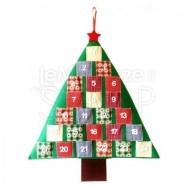 Calendario avvento a forma di albero