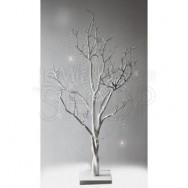Centrotavola ad albero bianco