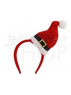 Cerchietto Cappello Babbo Natale