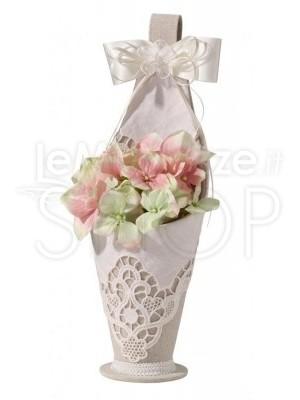 Cestino per fiori in stile country