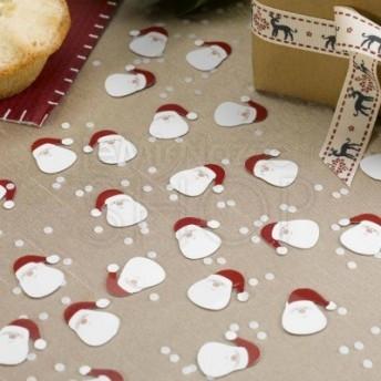 Decorazioni tavolo a forma di Babbo Natale 10 pacchi da 14 gr