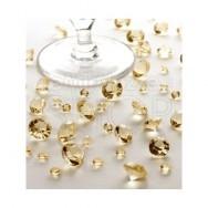 Cristalli decorativi oro 100 gr