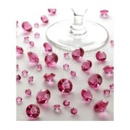 Diamanti decorativi fucsia 100 gr.