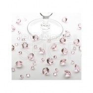 Diamanti rosa decorativi 100 gr
