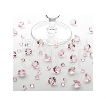 Diamanti rosa decorativi 100 gr
