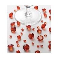 Diamanti decorativi rossi 100 gr.