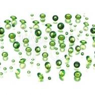 Diamanti decorativi verdi 100 gr