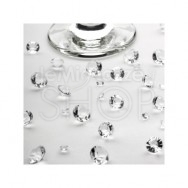Diamanti decorativi bianchi 100 gr