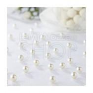 Perline decorative di colore avorio 134 pezzi