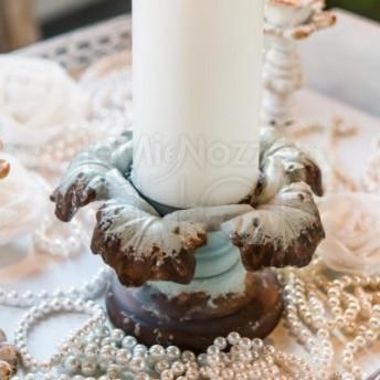 Porta candela grande vintage