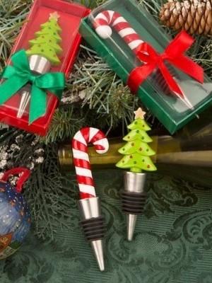Tappa bottiglie per feste natalizie