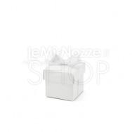 Scatola bianca con nastrino 10 pezzi