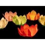 Lanterne galleggianti fiore