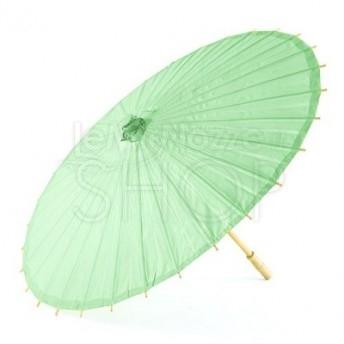 Ombrello parasole verde daiquiri in carta e bamboo