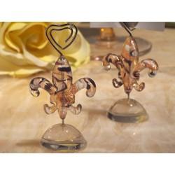Segnaposto glamour in vetro di Murano