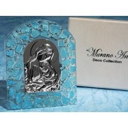 Icone religiose fatte a mano con vetro di Murano
