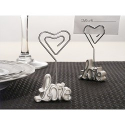6 X 3 Love Place Card Holder
