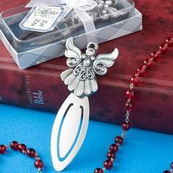 Angel Design Bookmark With Ivory Enamel Detail