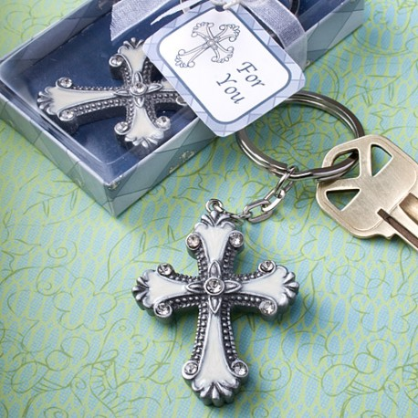 Cross Design Key Chain Favors