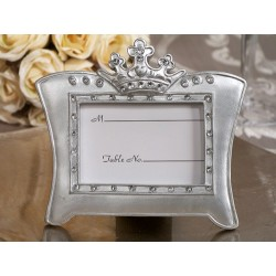 Queen For A Day Sparkling Tiara Silver Photo Frame Favors
