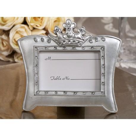 Queen For A Day Sparkling Tiara Silver Photo Frame Favors