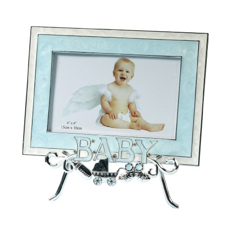 Baby Stand And Frame Blue