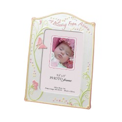 Portafoto per bambino rosa