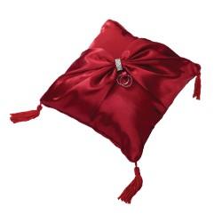Cuscino porta fedi rosso
