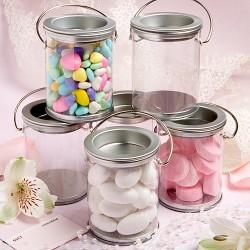 Mini vasi per la confettata