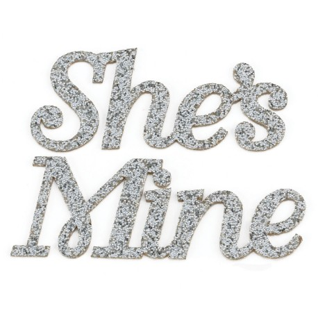 She S Mine Shoe Stickers