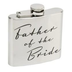 Fiaschetta per il padre della sposa