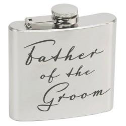 Fiaschetta per il padre dello sposo
