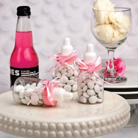 Bomboniera biberon rosa