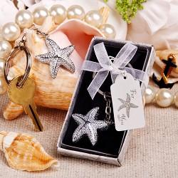 Portachiavi con stella marina