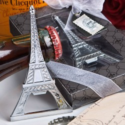 Bomboniera apribottiglia a forma di Torre Eiffel
