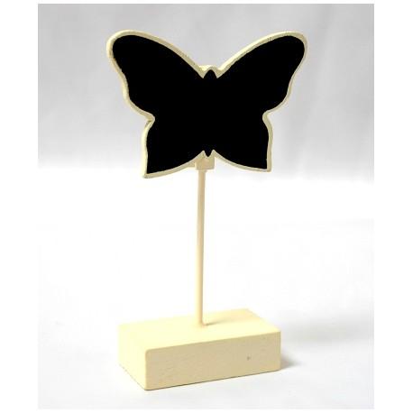 Segnaposto a forma di farfalla in avorio