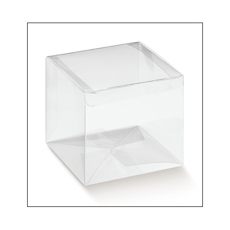 Scatoline di plastica trasparenti
