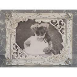 Libro per gli ospiti da matrimonio con rose eleganti