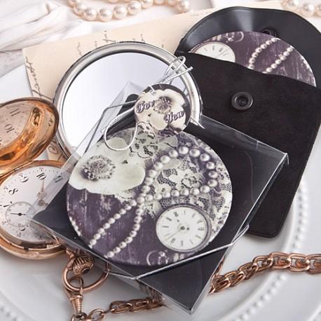 Vintage Design Pocket Mirror