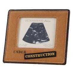 """Cornice per foto ecografia con scritta """"Under Construction"""""""