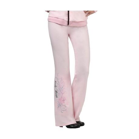 Pantaloni rosa taglia media per la sposa