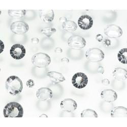 Diamanti decorativi trasparenti