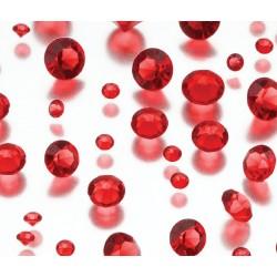 Diamanti decorativi rossi
