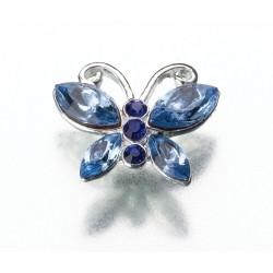 Clip a farfalla blu