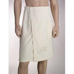 Asciugamano da bagno con scritta Mr
