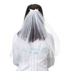 """Velo da sposa con scritta """"Bride to be"""""""