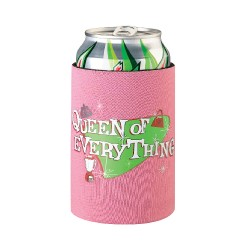 Coprilattina rosa con frase Queen of Everything