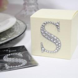 Lettera S diamante